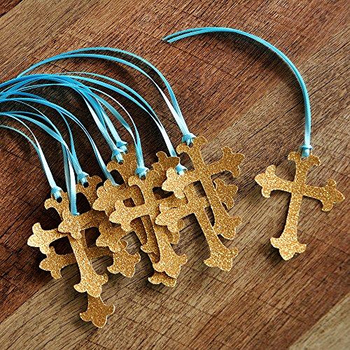 Christening Cross Favor Tags 10CT. ()