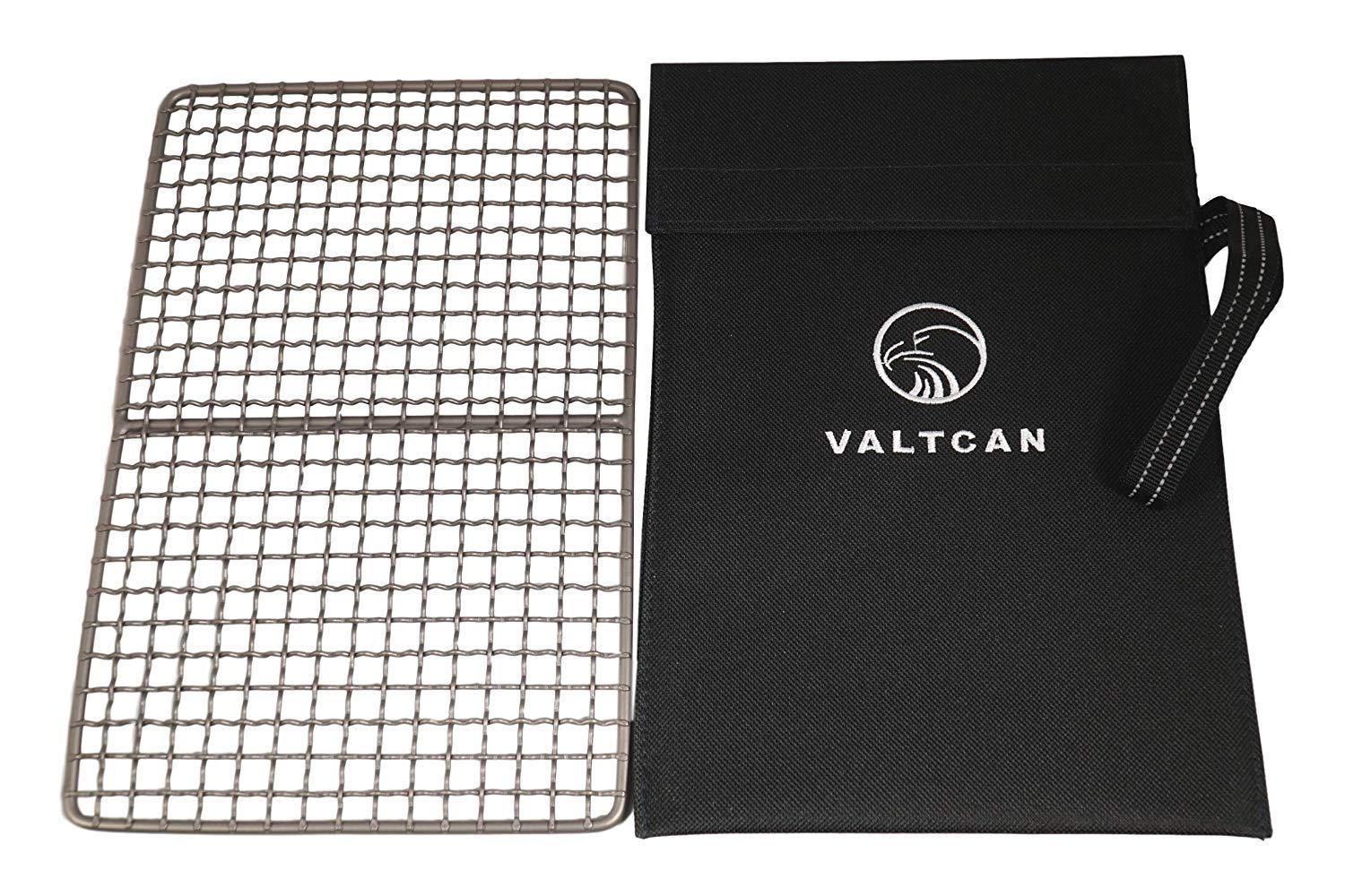 Valtcan Titanium Grill Grate for Camping 10 x 6.5 inches