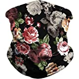 Youmymine Unisex Seamless Bandana Neck Gaiter Tube Face Cover Headwear, Motorcycle Mask for Outdoors Sport Face Scarf (D…