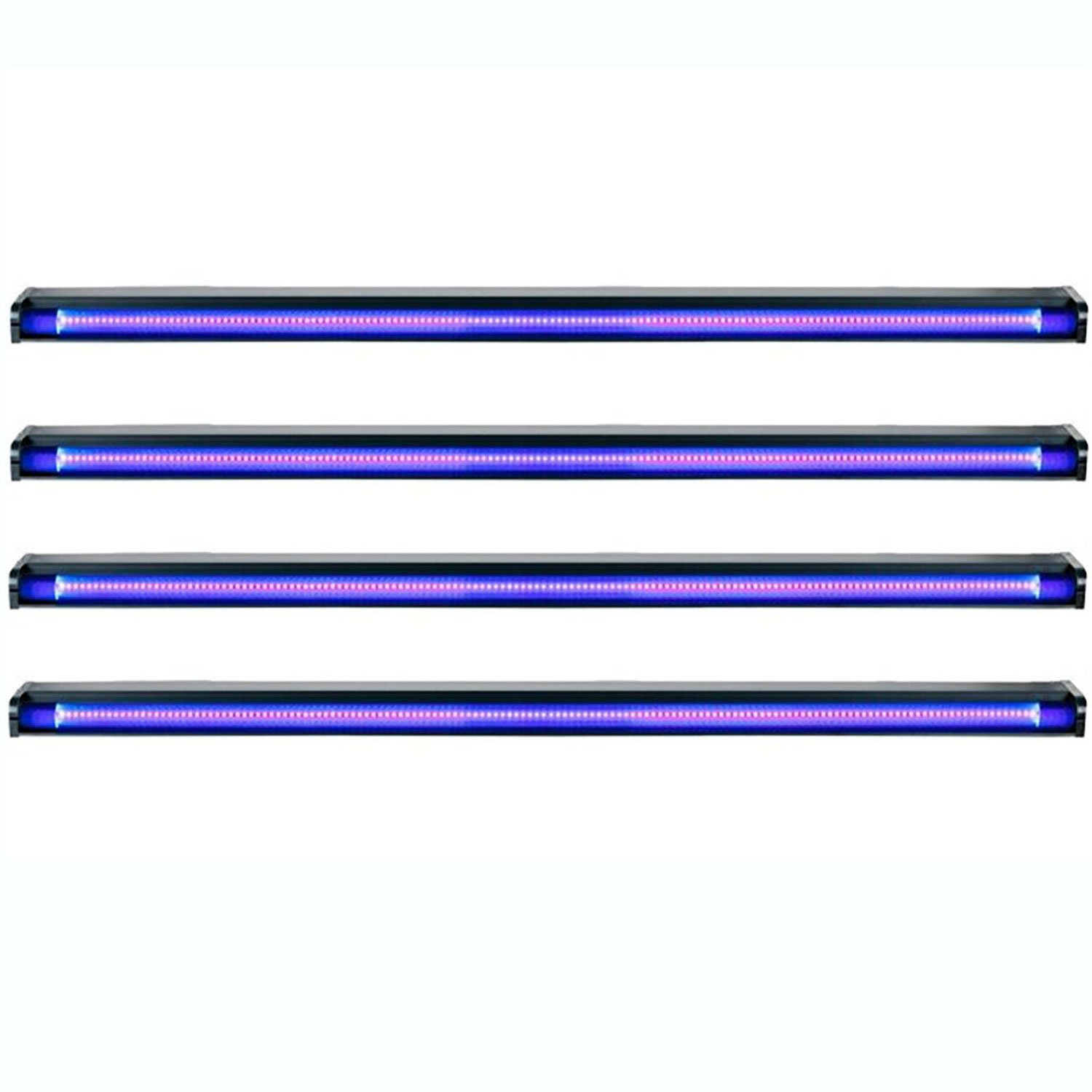 American DJ Startec 48'' 20W Stage Party UV LED Black Light Strip Bar (4 Pack)