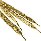 TopTie Metallic Lurex Flat Shoelaces, Fashion Bling Shoelaces, Price / Pair