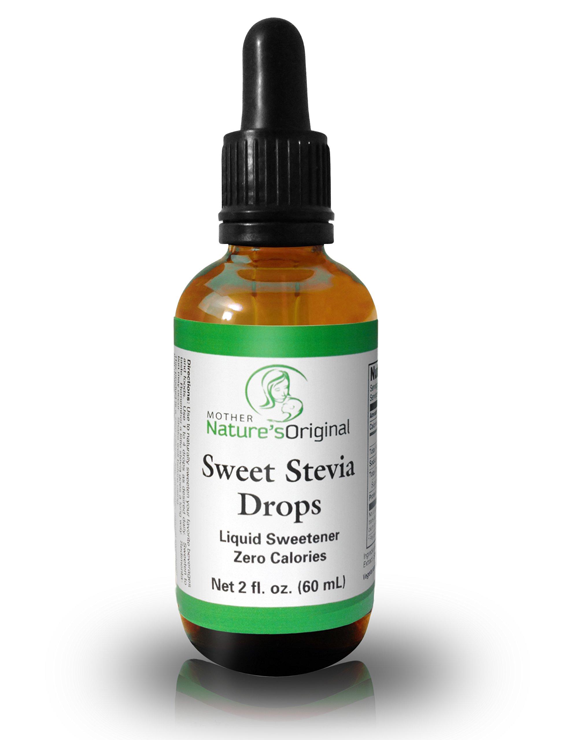 Liquid Sweet Stevia Drops for Coffee, Tea & Healthy Baking - Sugar Free, Zero Calorie Alternative Sweetener & Sugar Substitute, 2 Fl. Oz.