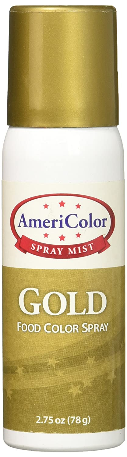 Americolor Food Color Spray, 2 3/4-Ounce, Gold: Amazon.ca: Home ...