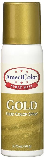 Americolor Food Color Spray, 2 3/4-Ounce, Gold: Amazon.ca: Home ...