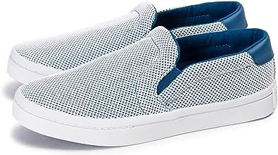 adidas Court Vantage Slip on, bleublanc, 37 13 EU: Amazon
