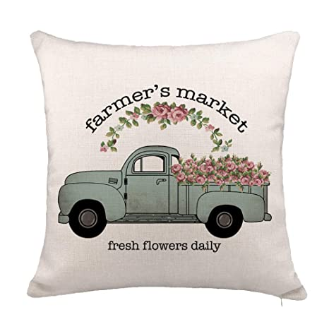Amazon.com: YOENYY - Funda de cojín para sofá, sofá, camión ...