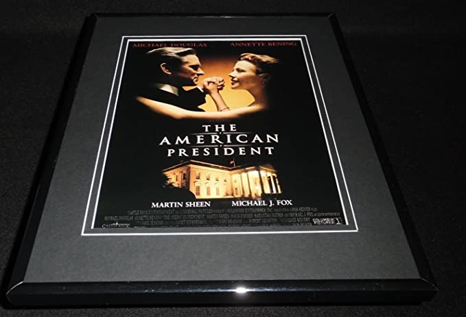 The American President 1995 Framed Original 11x14 Advertisement Michael Douglas At Amazon S Sports Collectibles Store