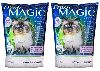 FreshMAGIC Large Chunk Style Crystal Cat Litter