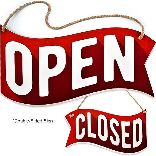 Amazon.com: Bigtime Signs - Señal abierta: Industrial ...