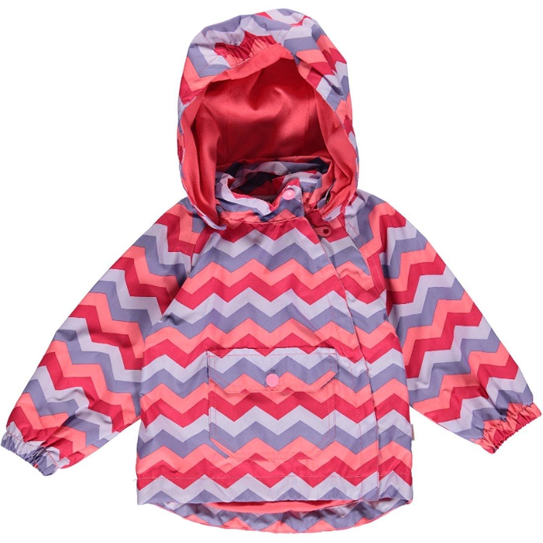 Fixoni Mädchen Rio Jacket Outdoorjacke, Pink-Lila, 32329
