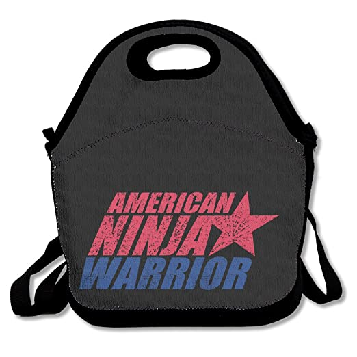 American Ninja Warrior - Caja de almuerzo bolsa para niños ...