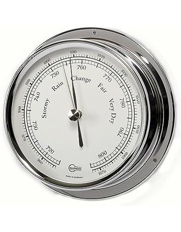 Barigo Barometro//Termometro Regatta cromo