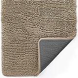 Gorilla Grip Indoor Durable Chenille Doormat, 60x36, Soft Absorbent Mat, Machine Wash Inside Mats, Low-Profile Rug Doormats f