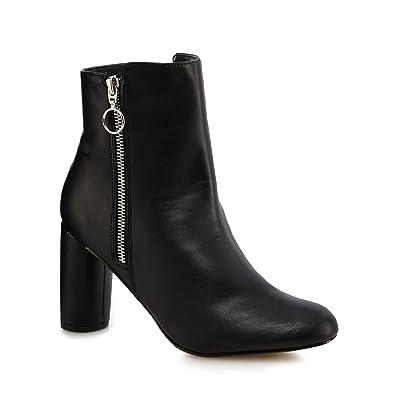 Debenhams Principles by Ben De Lisi Black 'Bena' High Block Heel Ankle Boots