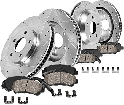 Front 360 mm and Rear 350 mm Quality Brake Disc Rotors For LAND ROVER