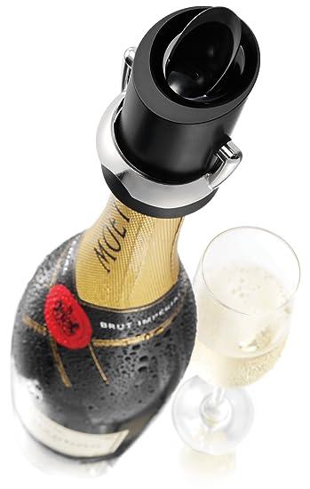 Vacu Vin Champagnerverschluss Sektflaschen Verschluss Ausgießer Tropfenschutz Möbel & Wohnen