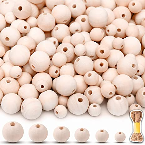 High quality wood beads for jewelry 20mm Wood Beads