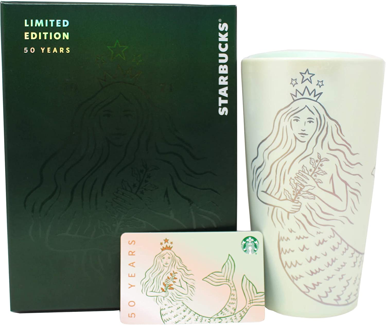 Starbucks Max 79% OFF 50th Anniversary Siren Ceramic Wall 1 San Diego Mall Double Traveler