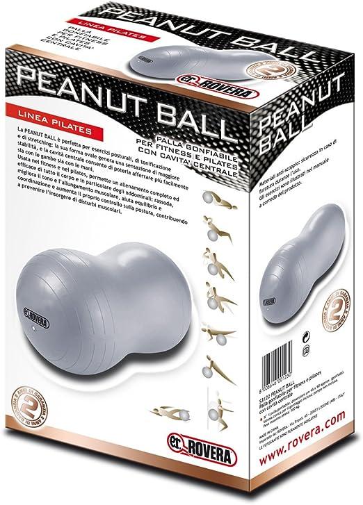 Grey Rovera Peanut Ball Pilates Oval One Size