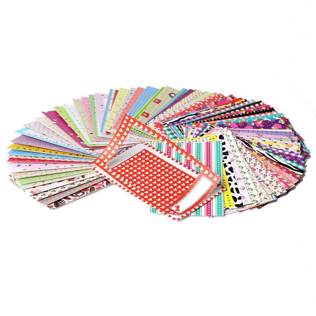 Kodak Colorful, Fun & Decorative Photo Border Stickers For 2x3 Photo Paper  (Printomatic, Mini Shot, Mini 2) - Pack of 100