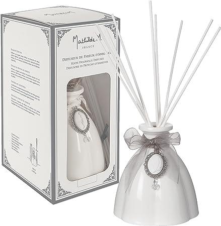 Mathilde M: Cajita regalo difusor de perfume de Ambiance María Antonieta jardín aroma a la francesa
