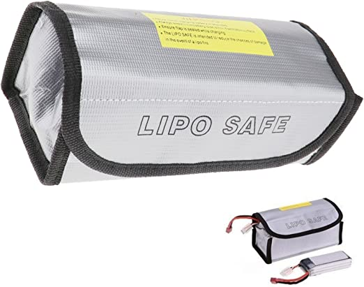 RC Lipo Model Battery Charging Safety Safe Guard Fireproof Charge Bag Sack Cover