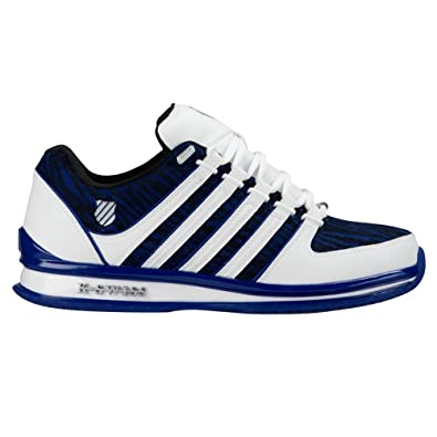 fbbeb39689467 K-Swiss Rinzler Sp Mens Other Leather Material Running Trainers Blue/White  - 7
