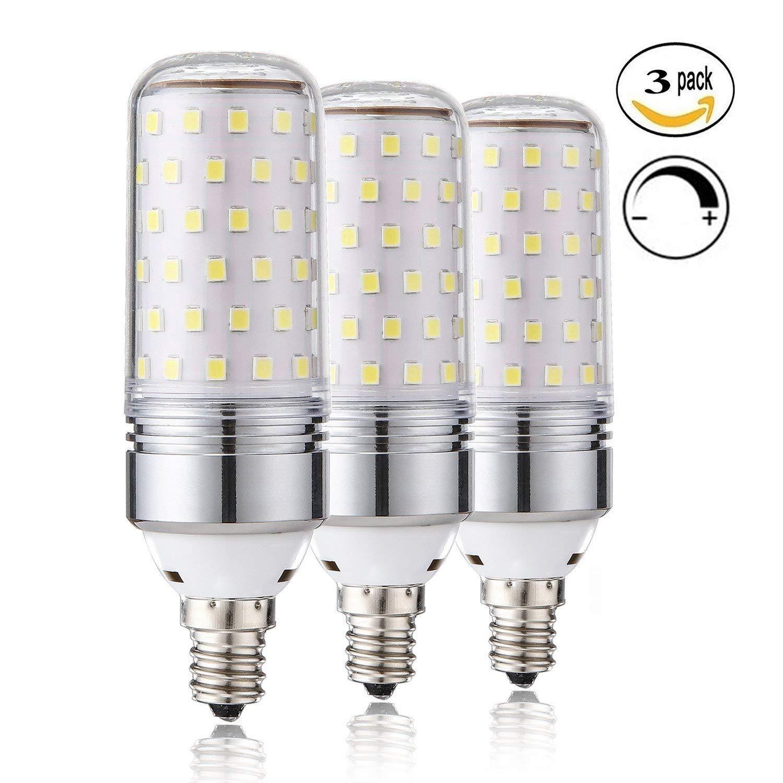 Leools Dimmable E12 Led Bulbs 15w Led Candelabra Bulb 100 Watt