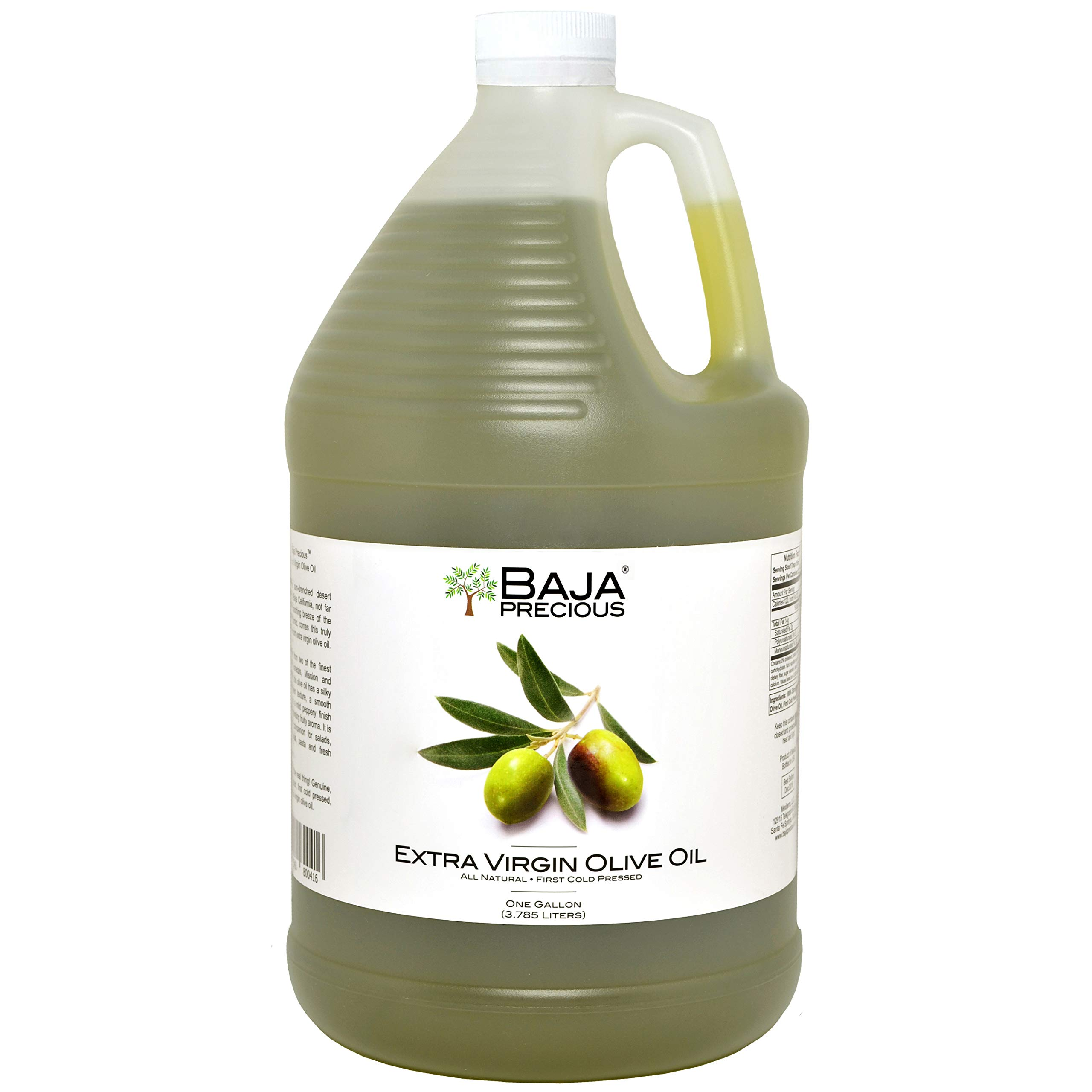 Baja Precious - Extra Virgin Olive Oil, 1 Gallon