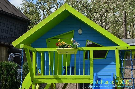 TF-Solutions Ole casa en el árbol, Juguete para niños, Building Plan: Amazon.es: Jardín