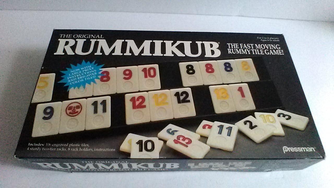 Pressman Toy The Original Rummikub Game 1990 Version by: Amazon.es: Juguetes y juegos