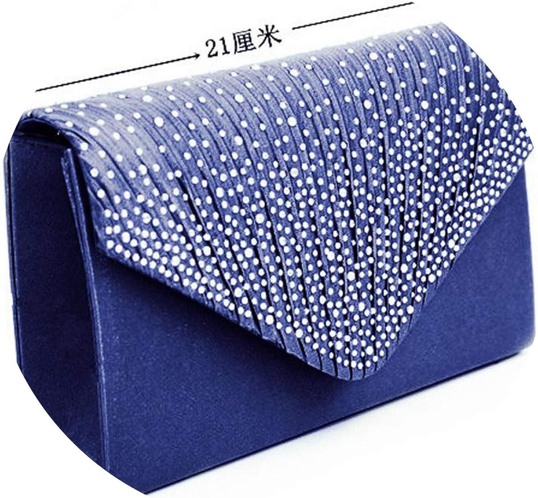 Sleeper #3001 Ladies Large Evening Satin Bridal Diamante Ladies Clutch Bag