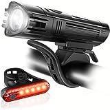 Ascher Ultra Bright USB Rechargeable Bike Light...