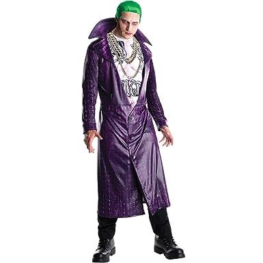 Generique , Déguisement Luxe Joker Suicide Squad Adulte XL Amazon.fr  Vêtements et accessoires