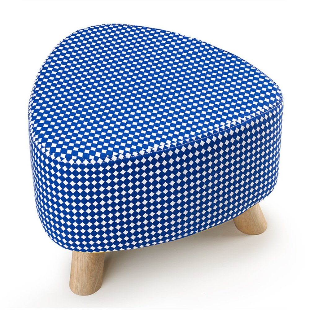 I 28x39cm(11x15inch) Low Stool,Three-Legged Removable and Washable Firmness Fabric Solid Wood Small Stool shoes Stool Sofa Bench-d 28x39cm(11x15inch)