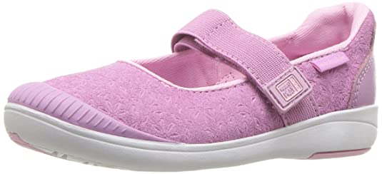 Stride Rite Girls' Made 2 Play Lia Mary Jane Flat, Purple, 8.5 M US Toddler