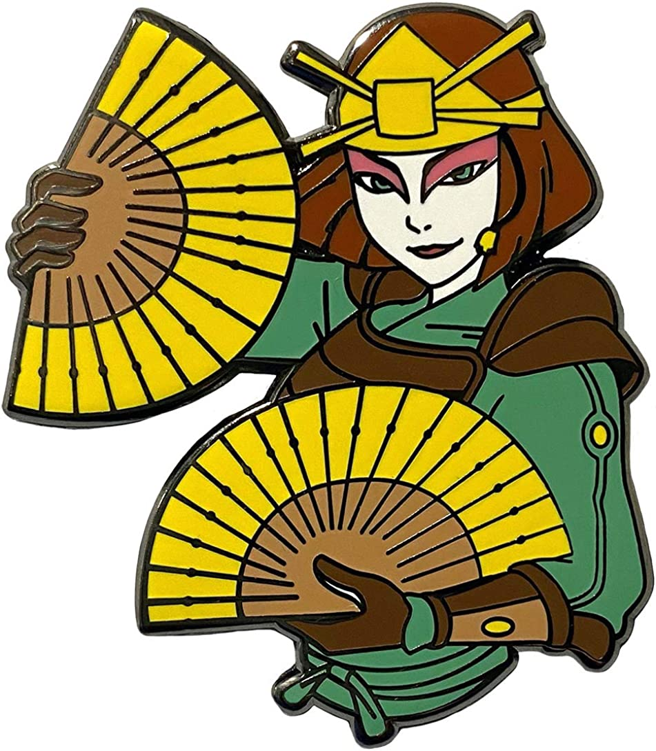 Avatar The Last Airbender Collectible Pin Suki and her Fans