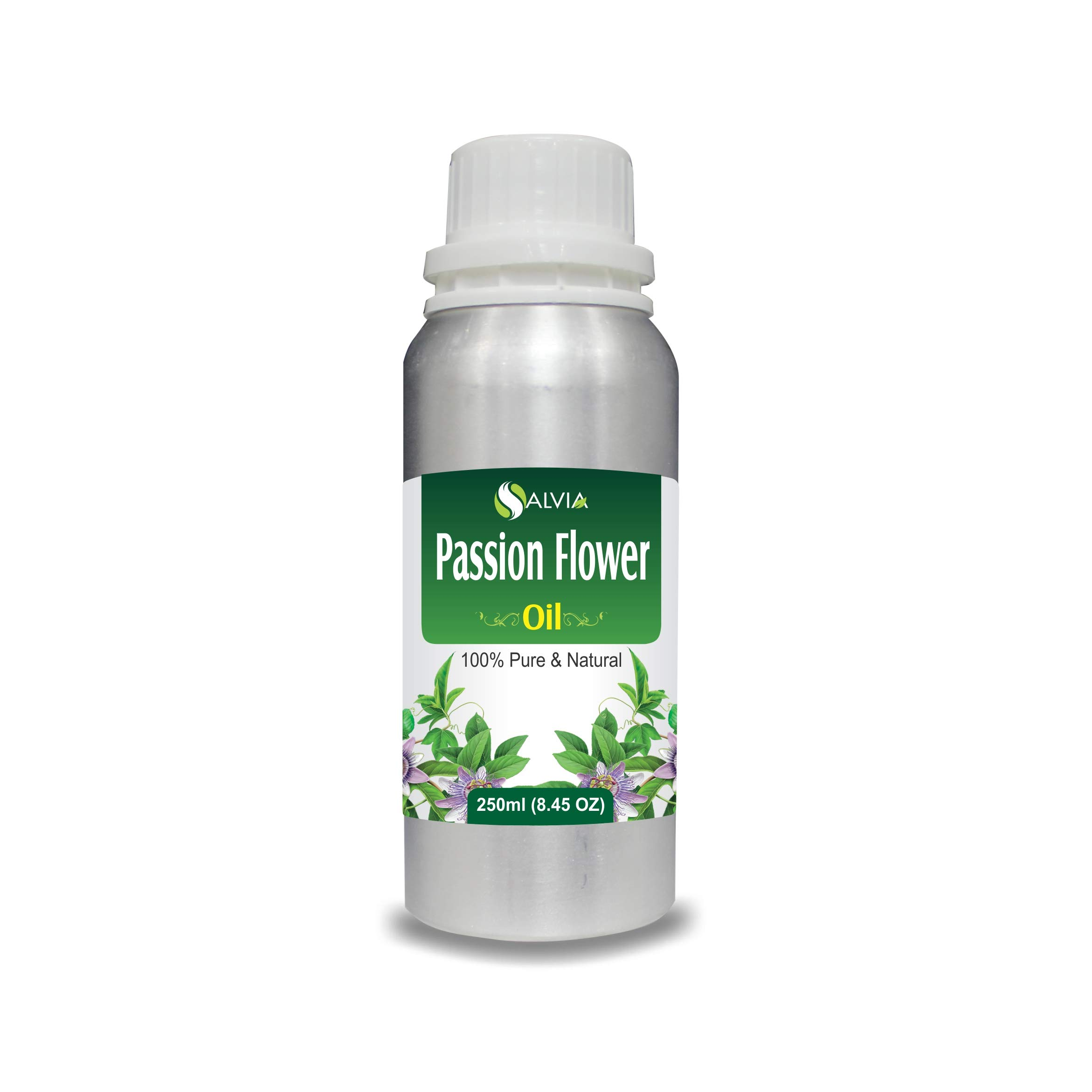 Passion Flower Oil 100% Natural Pure UNDILUTED Uncut Carrier Oil (250ml)