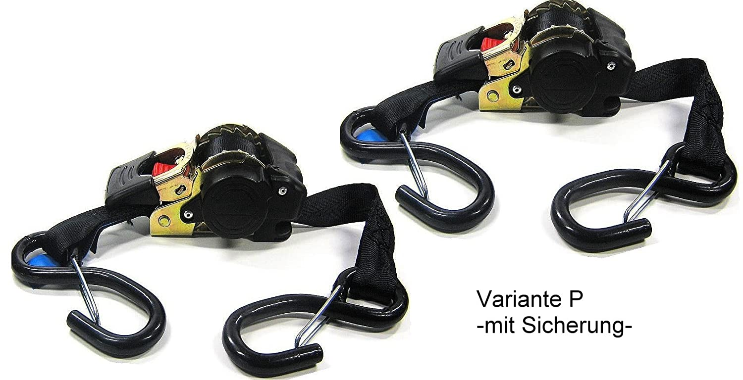 2P Automatic Tension Belt Retractor Selbstaufwickelnd Lashing With Ratchet 1,85M 600Kg Strapping En 121952, iapyx/® Pair P