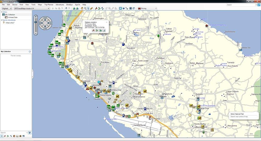 Amazon.com: Aruba GPS Map on SD Card (Garmin Compatible)