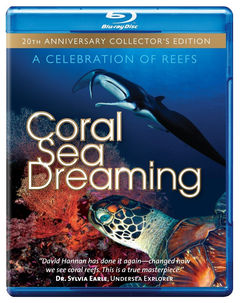 Coral Sea Dreaming- A Celebration of Reefs [Blu Ray] by MLJ Network