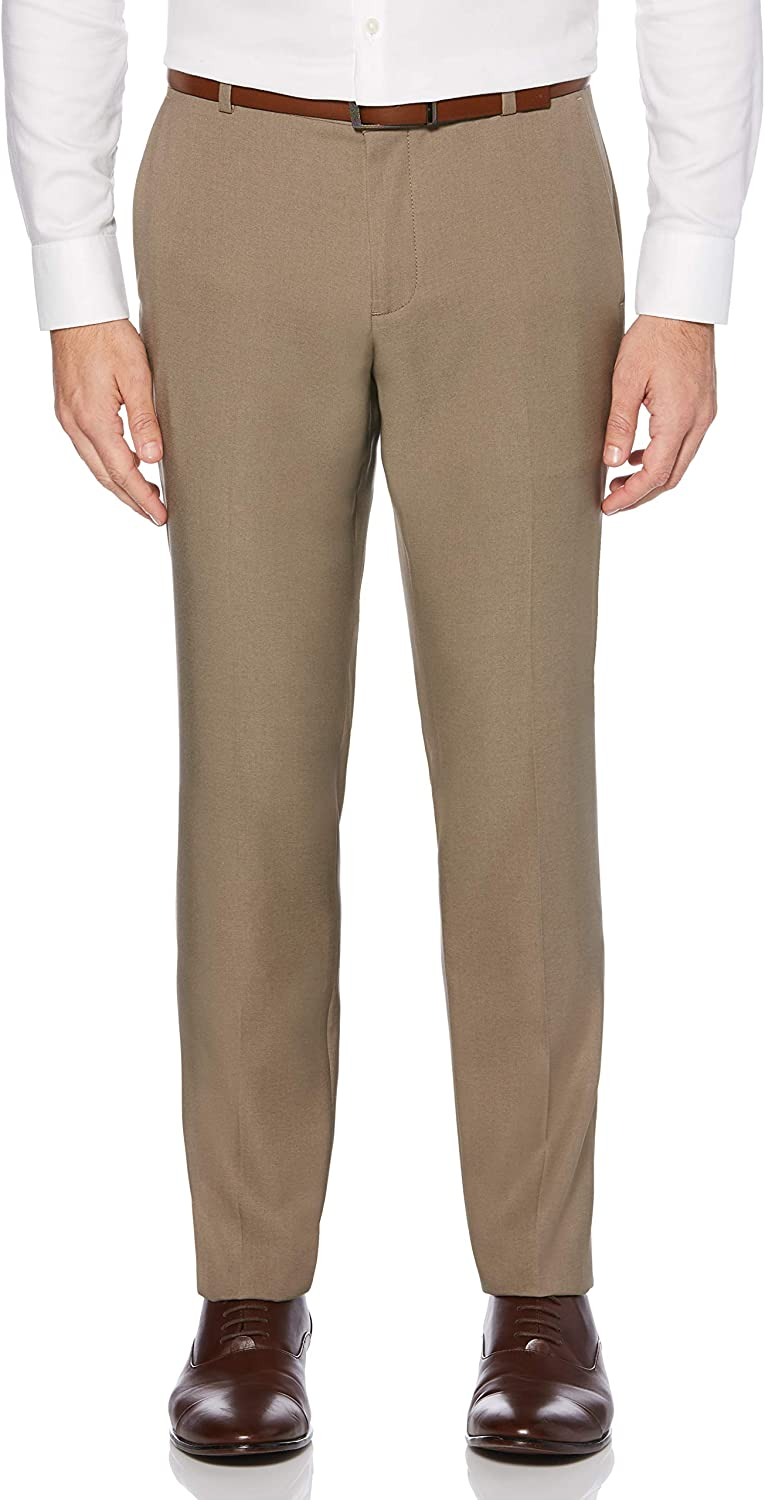Perry Ellis Men's Portfolio Very Heathered Stretch Slim-fit Pant New product depot type