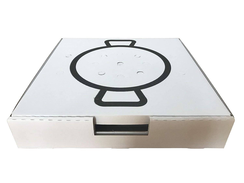 Cajas para Paellas (40X40 cm.): Amazon.es: Industria, empresas y ...