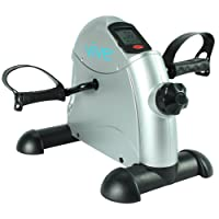 Pedal Exerciser by Vive - Portable Medical Exercise Peddler - Low Impact,  Small Exercise Bike