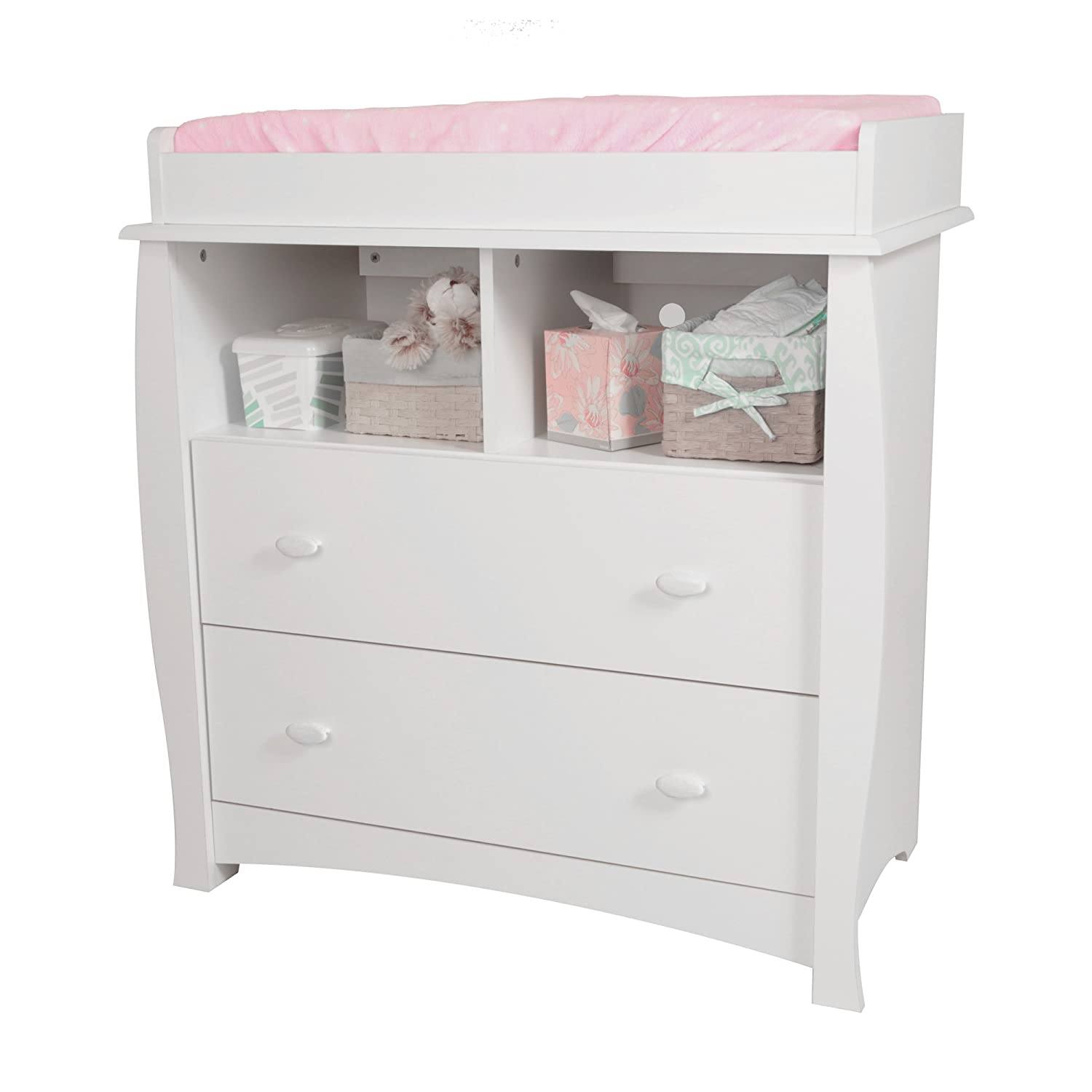 Amazon South Shore Beehive Changing Table with Removable