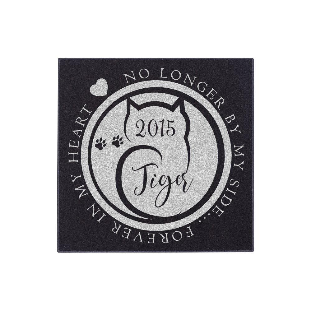 Personalized Pet Grave Marker for Cats or Dogs Free Customization Memorial Headstone DSG#8