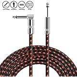Anpro Cable para Guitarra/Bajo/Teclado/Electríca 3m (10ft) φ 6.3mm ...