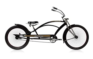Micargi Mustang Gts Stretch Chopper Matte Black