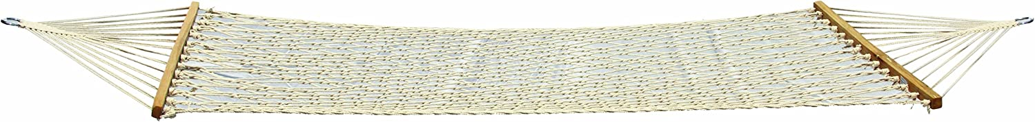 """Texsport Padre Island Hammock, White, 120"""" x 48"""" Overall Size, 78"""" x 39"""" Bed Size (14260)"""