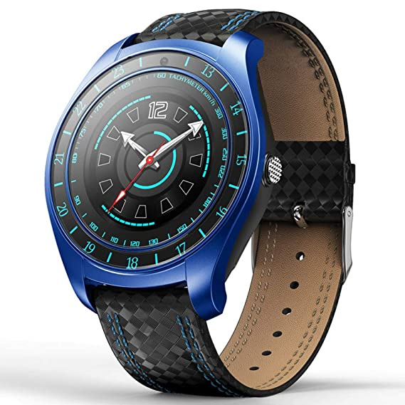 Amazon.com: WTGJZN Camera Smart Watch Android Support Heart ...
